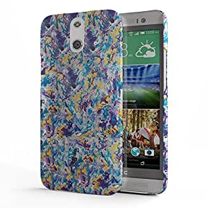 Koveru Designer Protective Back Shell Case Cover for HTC One E8 - Paint Pattern