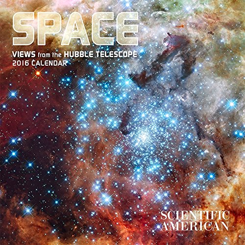Space/Views from Hubble 2016 Mini Wall Calendar
