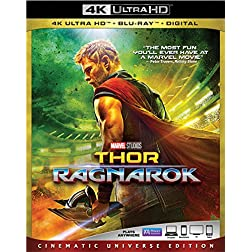 Thor: Ragnarok [4K Ultra HD + Blu-ray]