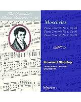 Moscheles : Concertos pour piano 1, 6, 7