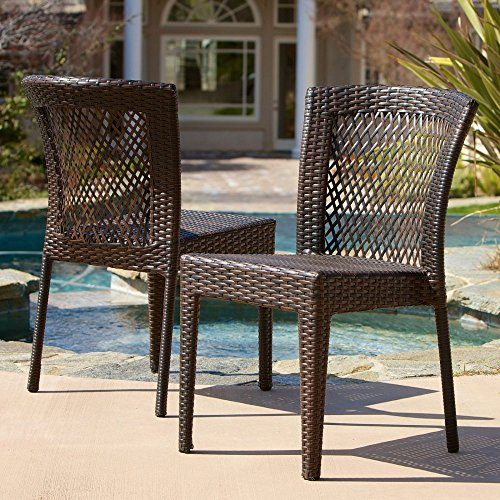 Best Selling Dawn Outdoor Wicker Chairs, Set of 2 image