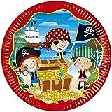 Little Pirates Plates 10 Pieces