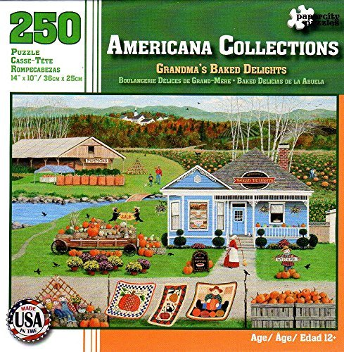Americana Collections Grandma's Baked Delights 250 Piece Puzzle (Party City Richardson)