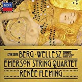 Berg: Lyric Suite; Wellesz: Sonnets By Elizabeth Barrett-Browning