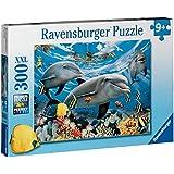"""Ravensburger - Puzzle con diseño de """"delfines"""", 300 piezas (13052 8)"""