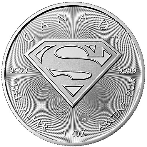 2016 CA $5 Silver Canadian Superman 1oz. - Brilliant Uncirculated Canadian Mint