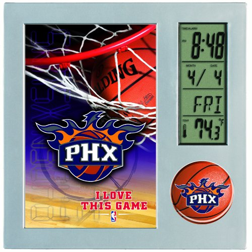 NBA Phoenix Suns Digital Desk Clock