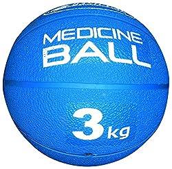 VIRTUOUS Unisex Rubber Medicine Ball 3000gm Blue