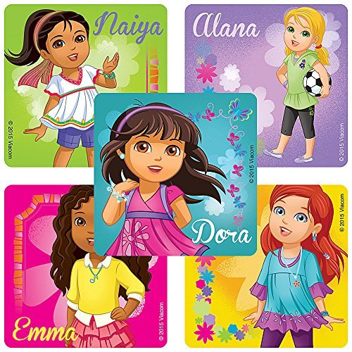 Dora & Friends Characters Stickers - Birthday Party ...