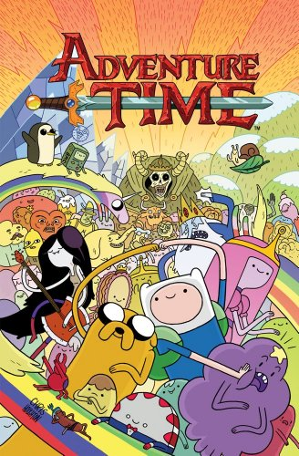 Adventure Time Vol. 1 [ペーパーバック] / Ryan North, Branden Lamb (著); Shelli Paroline (イラスト); KaBOOM! (刊)