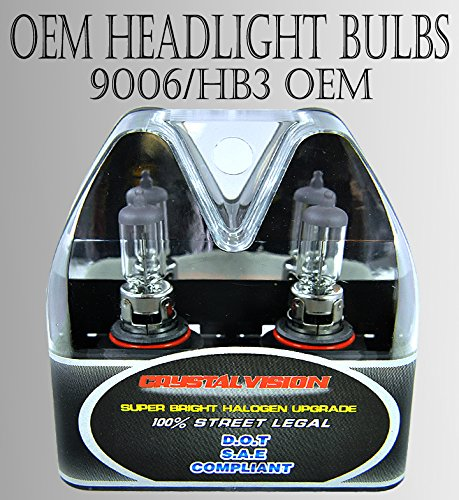 9006-HB4 55W LOW BEAM/ FOG LIGHT OEM FACTORY STOCK HEAD LIGHT BULBS DOT APPROVED (2006 Sienna Front Headlights compare prices)