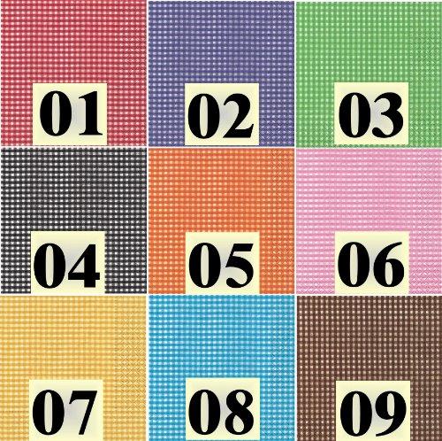 20 Servietten Farbauswahl möglich vichy turquoise - türkis kariert 33x33cm