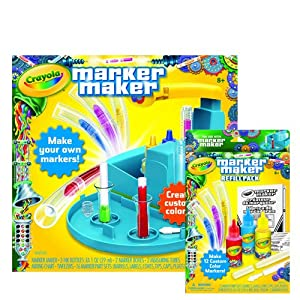 crayola marker maker mixing guide pdf