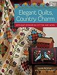 Elegant Quilts, Country Charm: Appliq...