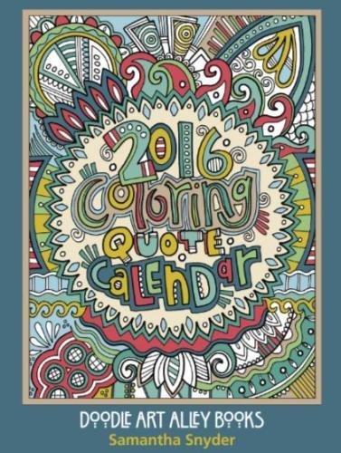 Printable Calendar Doodle Art Alley : Cheapest copy of coloring quote calendar doodle art