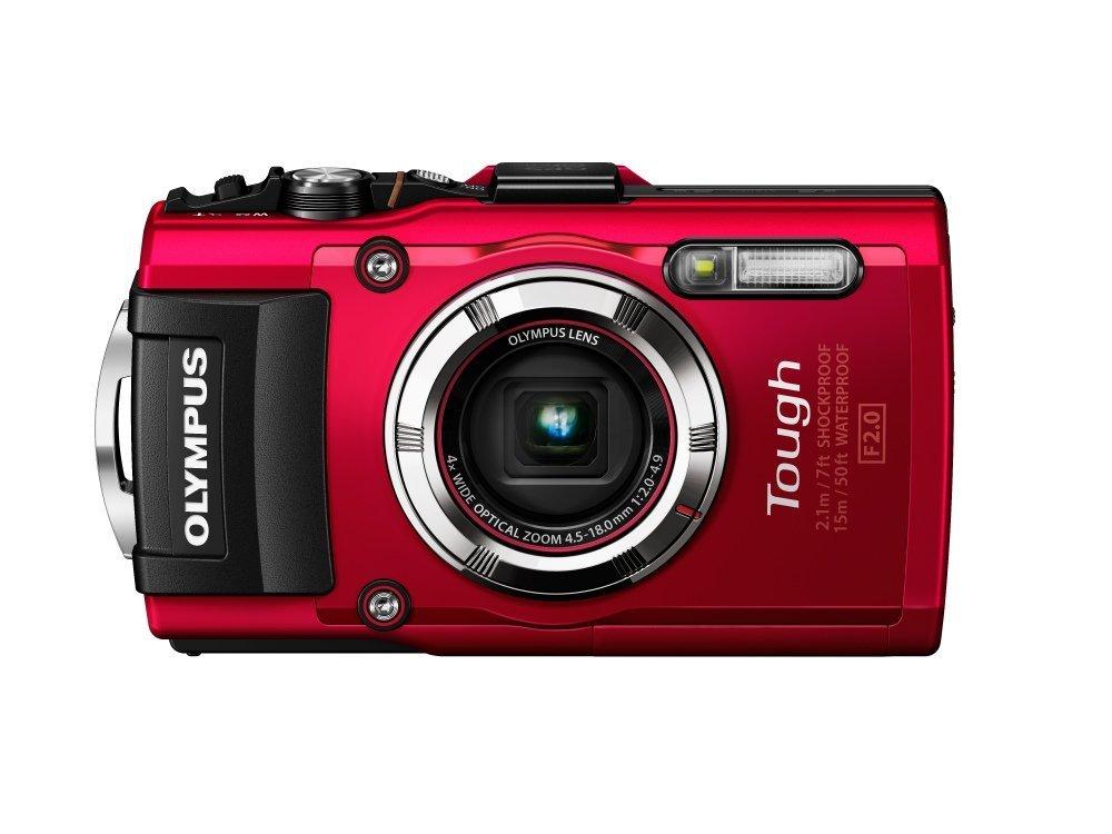 Digital Cameras OLYMPUS TOUGH TG3 RED 16MPIXELS
