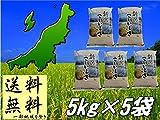 平成28年産 新潟県産 こしいぶき (精米25kg(5kg×5袋))