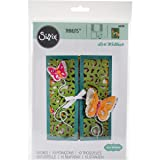 Sizzix 661390 Thinlits Die Set, Gatefold Card, Butterflies by Lori Whitlock (10-Pack)