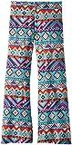 Truluv Big Girls' Wide Leg Printed Pull-On Pant, Tribal Print, 10