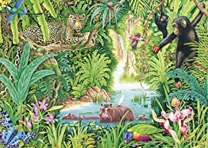 Jungle Life Jigsaw Puzzle, 1000-Piece