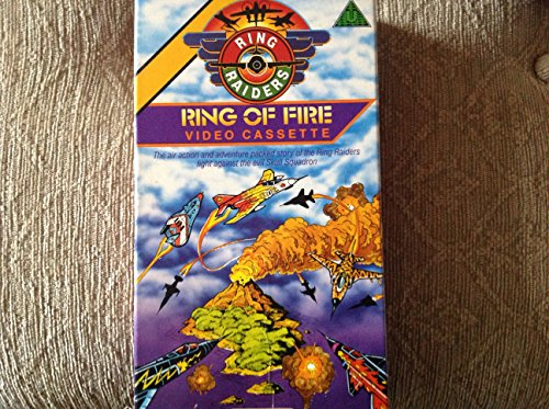 ring-raiders-ring-of-fire-childrens-vhs-video-from-matchbox