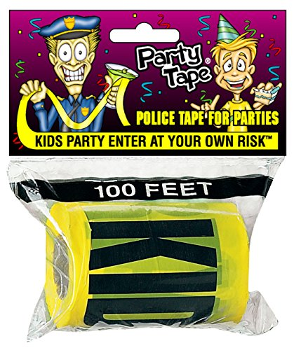 Party Tape - KIDS PARTY ENTER AT YOUR OWN RISK - 100 Feet!