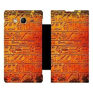 Skintice Designer Flip Cover with Vinyl wrap-around for Samsung Tizen Z3, Design - Pattern