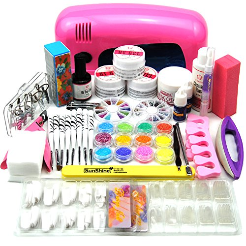 coscelia-9w-uv-nageltrockner-set-nageldesign-starterset-uv-gele-nagelset-nail-art-kits-satz