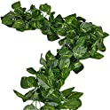 2-Pk. Unilove 156' Fake Foliage Garland Leaves