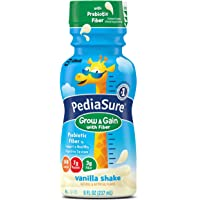 24 Pack PediaSure 8-Ounce Nutrition Drink with Fiber (Vanilla)