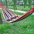 High-End-Outdoor-Freizeit-Hängematte weiteten dicker Leinwand Hängematte Schaukel Vaterschaftsdoppelhängematte von Flying little witch Hammock - Gartenmöbel von Du und Dein Garten