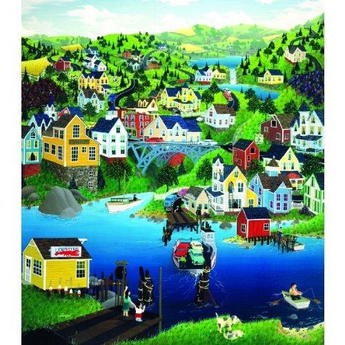 Cheap SunsOut Ferry Crossing 300 Piece Jigsaw Puzzle (B0036LKZR8)