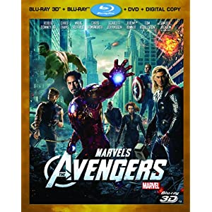 Marvel's The Avengers (Four-Disc Combo: Blu-ray 3D/Blu-ray/DVD + Digital Copy)