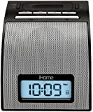 iHome IH11BVC Alarm Clock with Dock for iPod (Silver)