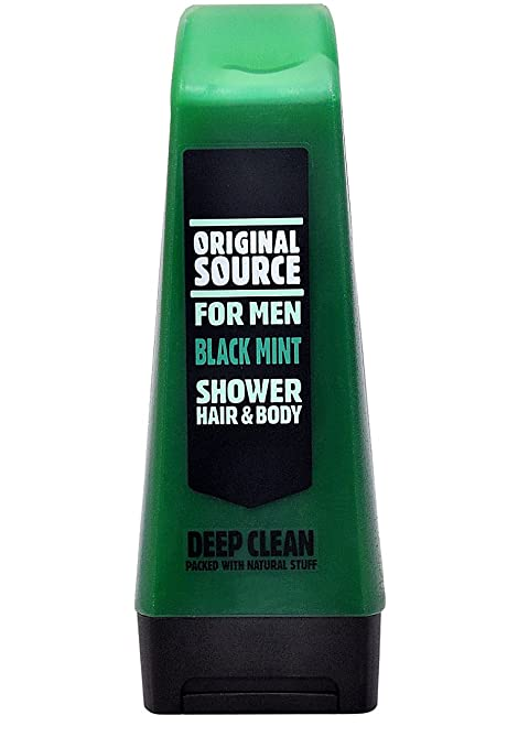 Original Source Shower Gel Black Mint 250ml Available At