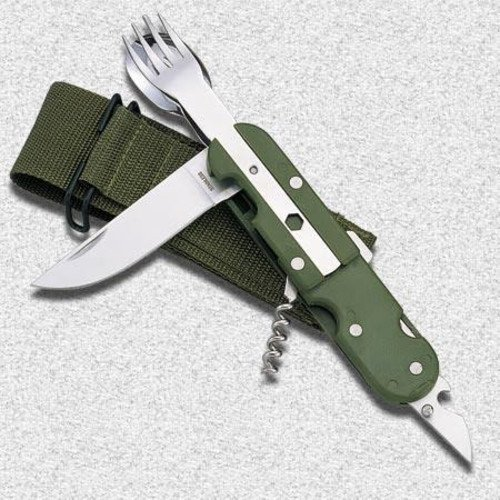 Olive Planet EU Military Cutlery Set