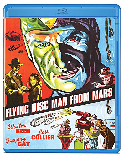 Flying Disc Man From Mars [Blu-ray]