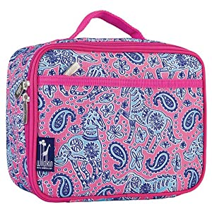 Wildkin Lunch Box,One Size,Watercolor Ponies Pink