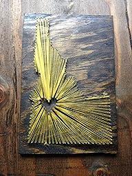 Idaho String Art 17\