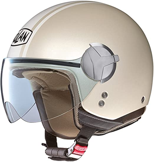 Nolan - Casque - N20 TRAFFIC CARIBE PLUS - Couleur : pearl ivory - Taille : 2XL