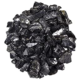 Hypnotic Gems Materials: 1/8 lb ELITE Shungite Stones for Water Purification and Jewelry Making - 1-2 cm size - Bulk Rough Natural Raw Shungite from Russia for Wicca, Reiki & Energy Crystal Healing