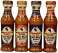 Nando's Peri Peri Sauce Variety 4 Flavors Combination, 4.7 Ounce (Pack of 4) by Nando's