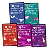 Louise Rennison Louise Rennison The Confessions of Georgia Nicolson 5 Books (10 Titles Complete Series) Collection Pack Set RRP: £47.91 (Angus, thongs and full-frontal snogging / It's Ok, I'm wearing really big knickers., Confes Knocked Out By the Nunga