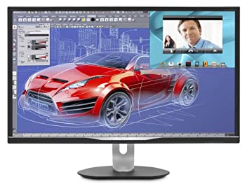 "Philips BDM3270QP Ecran PC LED 32"" 2560 x 1440 4 ms DVI/VGA/HDMI Noir"