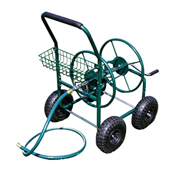 chariot d vidoir enrouleur de tuyau tuyau d 39 arrosage jardin m130. Black Bedroom Furniture Sets. Home Design Ideas