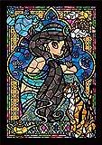 266ピース ジグソーパズル ステンドアート アラジン ジャスミン ステンドグラス ぎゅっとシリーズ(18.2x25.7cm)