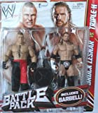 Toy - WWE Battle Packs 20 Triple H & Brock Lesnar Wrestling Action Figures