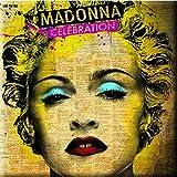 Madonna Celebration new Official 76mm x 76mm Fridge Magnet