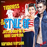 Timeless (In the Style of Justin Guarini & Kelly Clarkson) [Karaoke Version] - Single