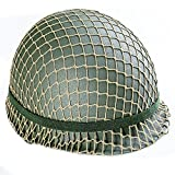 Men's Ww2 Us Army M1 Green Helmet with Liner Repro